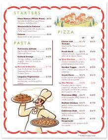 italian restaurant menu template restaurant menu template for