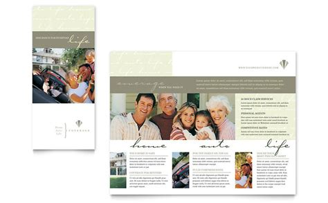 Insurance Information Brochure Outline by Auto Insurance Company Brochure Template Word Publisher