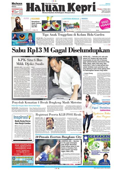New Mainan Anak Ayam Patok Patok tapak jejak koran pagi issuu minggu 17 maret 2013