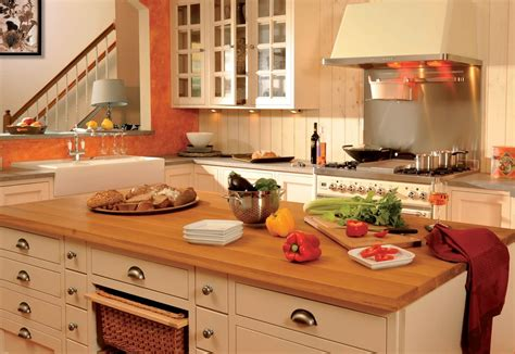 cuisine style cagne chic cuisines cottage