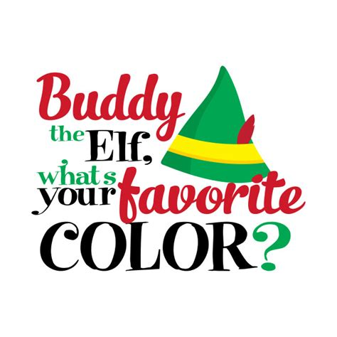 buddy the what s your favorite color walter