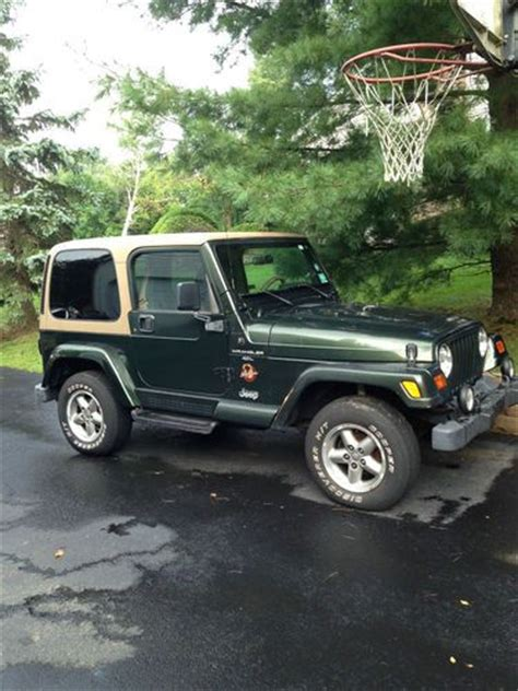 Automatic Jeep Soft Top Sell Used Jeep Wrangler 1998 4x4 Automatic Soft