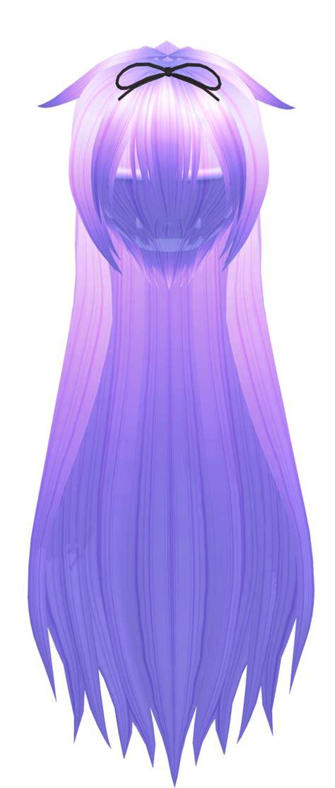 hair mmd download mmd purple long hair by 9844 on deviantart