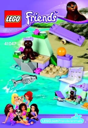 Lego Friends 41047 Seals Rock Series 6 lego seal s rock 41047 friends