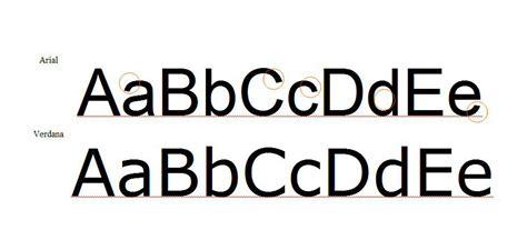font verdana verdana typeface