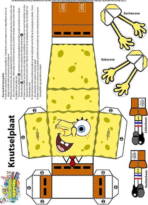 Spongebob Papercraft - spongebob crafts to make