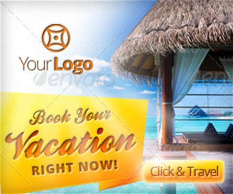 travel agency vacation web banners  belegija graphicriver