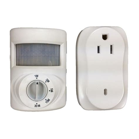 Defiant 200 Watt Wireless Indoor Plug In Motion Activated