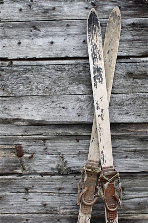 ski home decor 142 best sleds skates skis images on pinterest