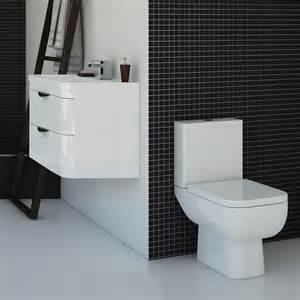 monza vanity unit modern toilet package