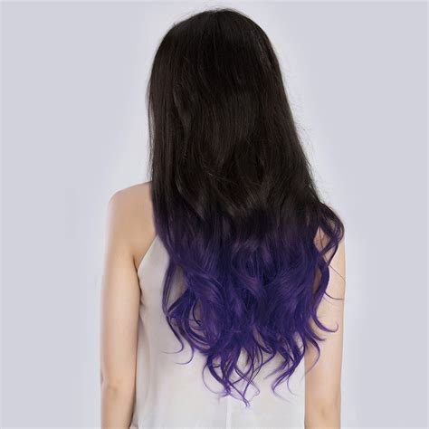 hair extensions ca 20 quot ombre 1b violet 7pcs remy clip in hair extensions