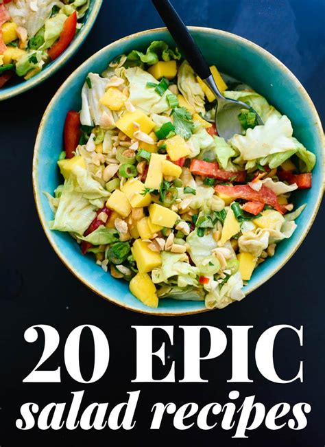 salad cookbook delicious salads that keeps you fuller for longer books 20 epic salad recipes cookie and kate
