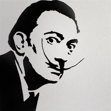 stencil home decor salvador dali stencil home decor stencil art stencil paint