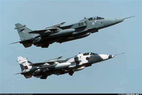 photos sepecat jaguar gr1a aircraft pictures airliners net