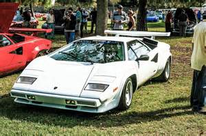 Lamborghini Countach White White Lamborghini Countach Car Photos