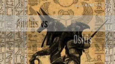 anubis vs osiris youtube