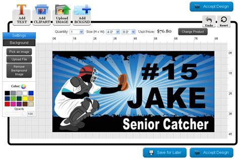 Banners Com How To Make Baseball Banners Baseball Banner Templates