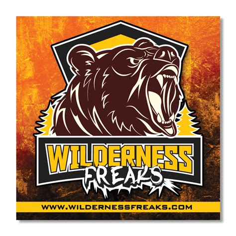 Outdoor Aufkleber by Wilderness Freaks Outdoor Vinyl Stickers