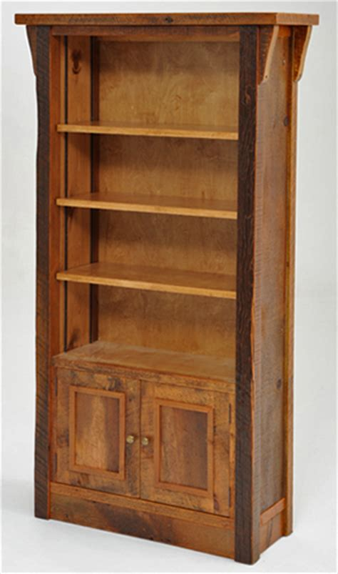 barnwood bookcase reclaimed bookcase antique wood bookcase