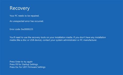 your pc needs to be repaired fix for windows 8 8 1