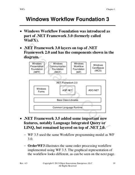 windows workflow foundation 3 0 windows workflow foundation using c