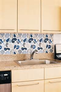 Removable Kitchen Backsplash by Chasing Paper Removable Wallpaper Going Home To Roost