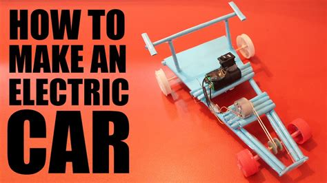 how to make a paper car that diy electric car