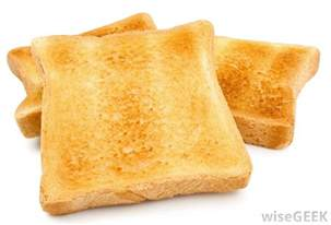 what is toast with pictures