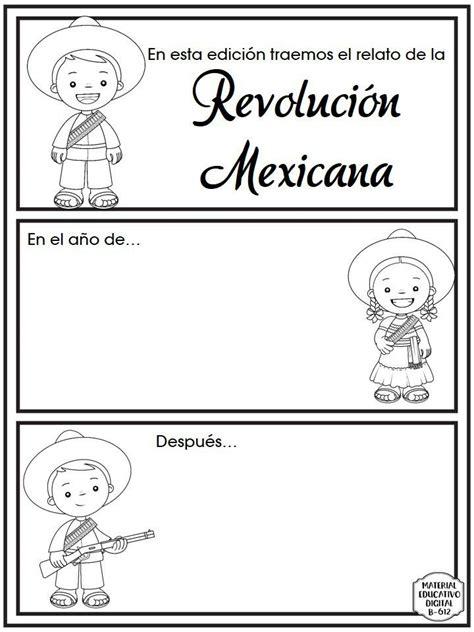 imagenes para trabajar la revolucion mexicana excelente y fabuloso material para trabajar el tema de la