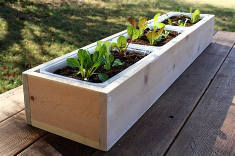Fabriquer Des Jardinières by Comment Construire Un Bac A Fleur En Bois Cheap Comment