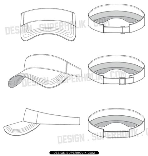 hat design template fashion design templates vector illustrations and clip