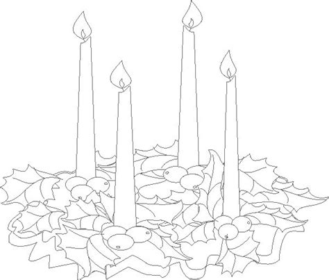 coloring page of an advent wreath 1000 images about the family advent event on pinterest