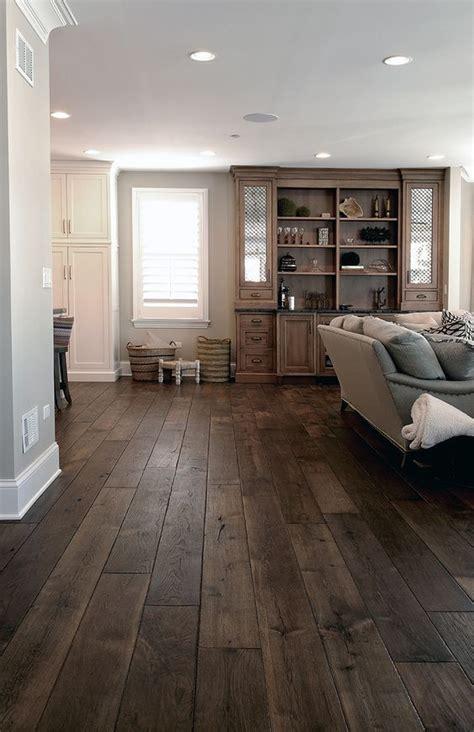 Home Decor Flooring by Best 25 Rustic Hardwood Floors Ideas On