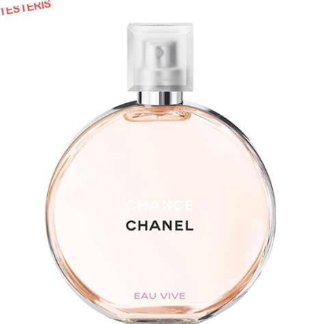 Chanel Chance Edt 100ml Original chanel chance eau vive edt 100ml