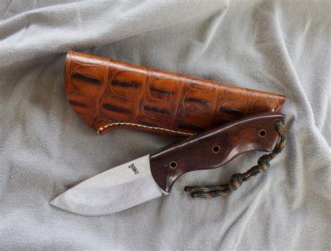 justin gingrich ranger r k knife custom made by justin gingrich desert ironwood handle