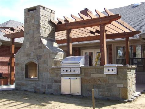 outdoor kitchen fireplace combo home is where the is