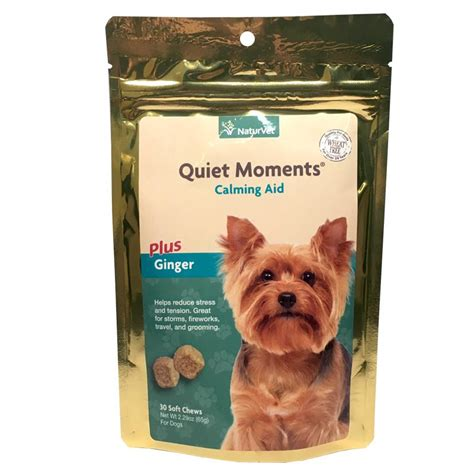 calming chews for dogs buy naturvet moments calming aid for dogs 30 soft chews