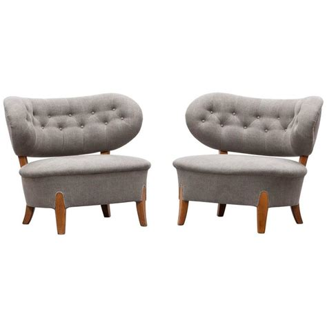 schulz upholstery pair of otto schulz lounge chairs new upholstery for