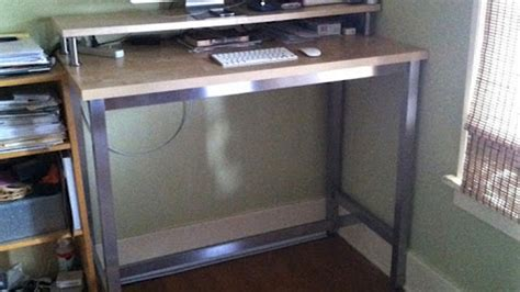 Lifehacker Ikea Standing Desk Assemble A Standing Desk From Ikea Parts Lifehacker Australia