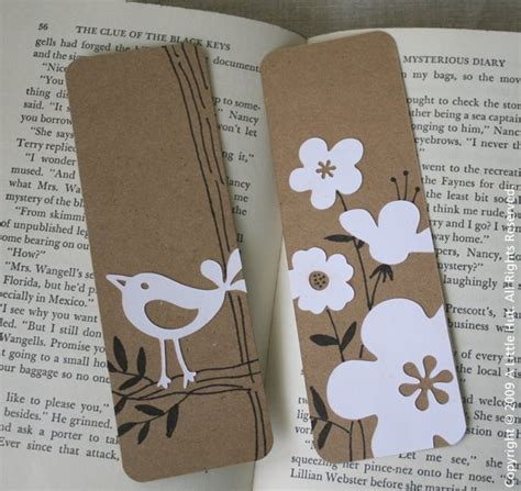 Handmade Bookmarks Ideas - 25 creative diy bookmarks ideas