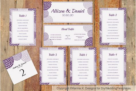 wedding guest seating chart template wedding seating chart template by diyweddingtemplates
