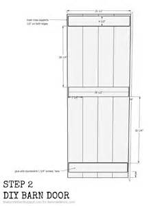Barn Door Dimensions Remodelaholic Diy Sliding Barn Door Inexpensive Hardware