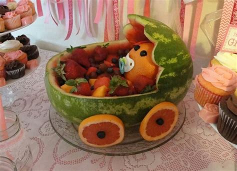 Baby Shower Watermelon by Watermelon Baby Carriage Baby Shower Babies Watermelon And Watermelon Baby Carriage