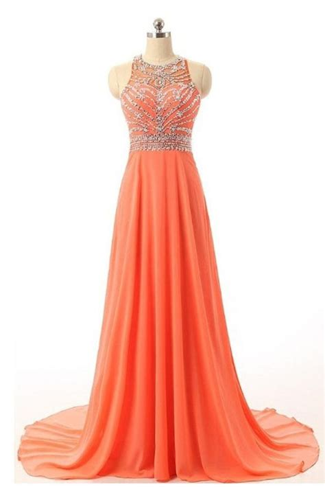 Handmade Prom Dress - beautiful handmade prom dresses prom dress orange