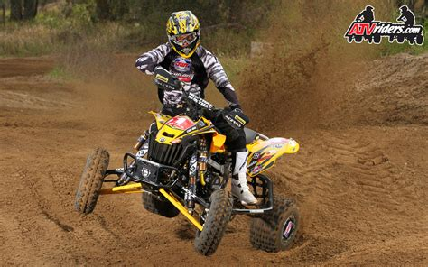 photo natali sxs holz racing s john natalie can am ds450 sport atv