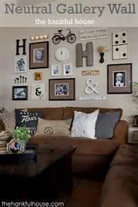 wall gallery ideas the hankful house neutral gallery wall galleryyyyy