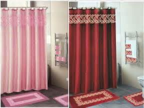 Bathroom Towel And Rug Sets 18 Embroidered Bathroom Set Bath Rugs Shower Curtain Hooks 3pc Towel Set Ebay