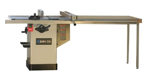 Table Saw Fence And Rail System by Delta 36 750 10 Inch Deluxe Hybrid Saw With 50 Inch
