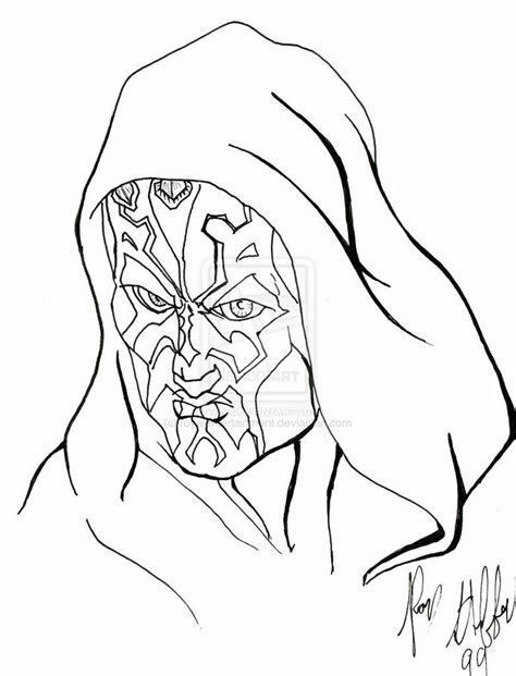 coloring pages darth maul darth maul coloring pages hicoloringpages coloring home