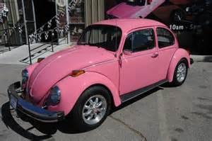 Pink For Sale 1977 Pink Volkswagen Beetle Showcar For Sale